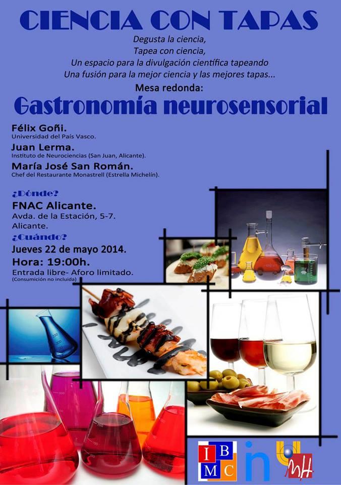 Gastronomía neurosensorial_V Ciencia con tapas_IBMC