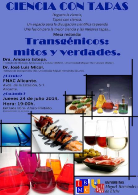 Ciencia con tapas_Transgenicos mitos y verdades