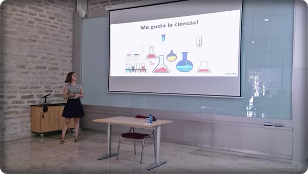 Ainara Lopez seminario IBMC