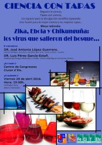 Ciencia con tapas 29abril2016 VIRUS